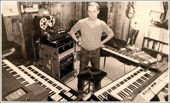 Kit Watkins in his studio