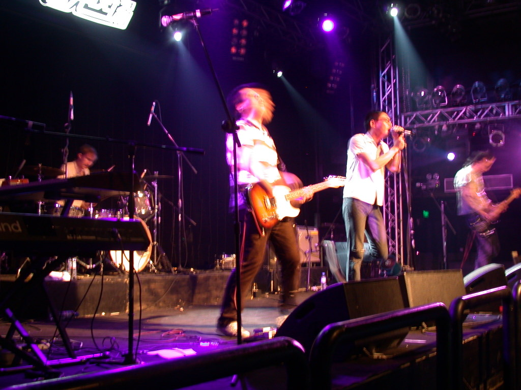 P.K.14 live at Star Live, photo by Jon Davis