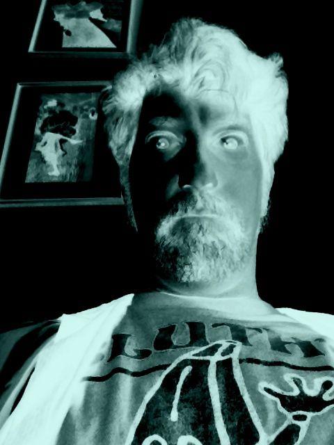 Jamison Smeltz indulges in a selfie