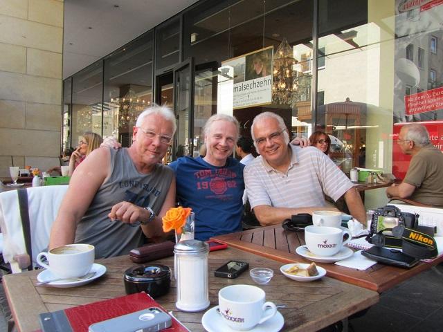 Harald Grosskopf, Uwe Cremer, and Henry Schneider