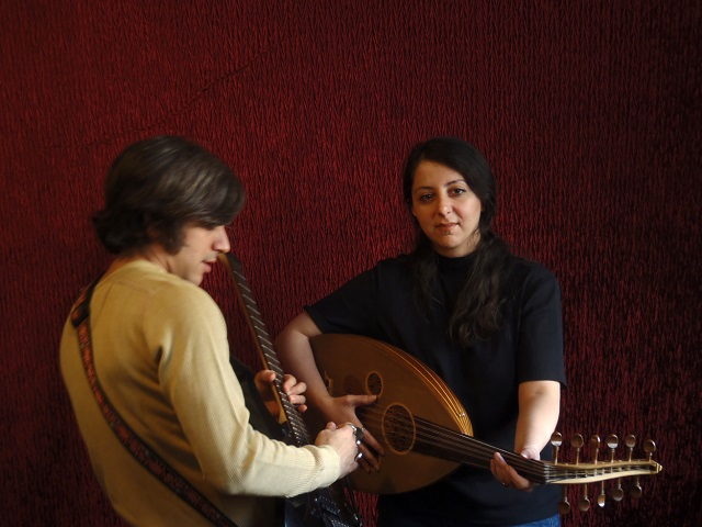 Negar Bouban and Saim Ghazi Saeedi