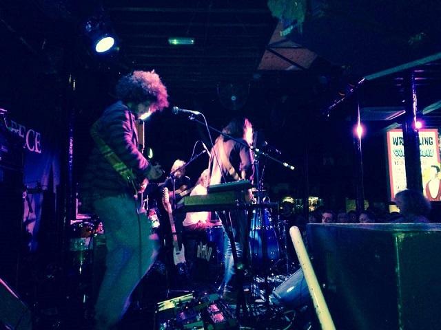 Syd Arthur on stage