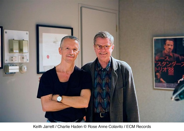 Keith Jarrett and Charlie Haden, photo courtesy of ECM