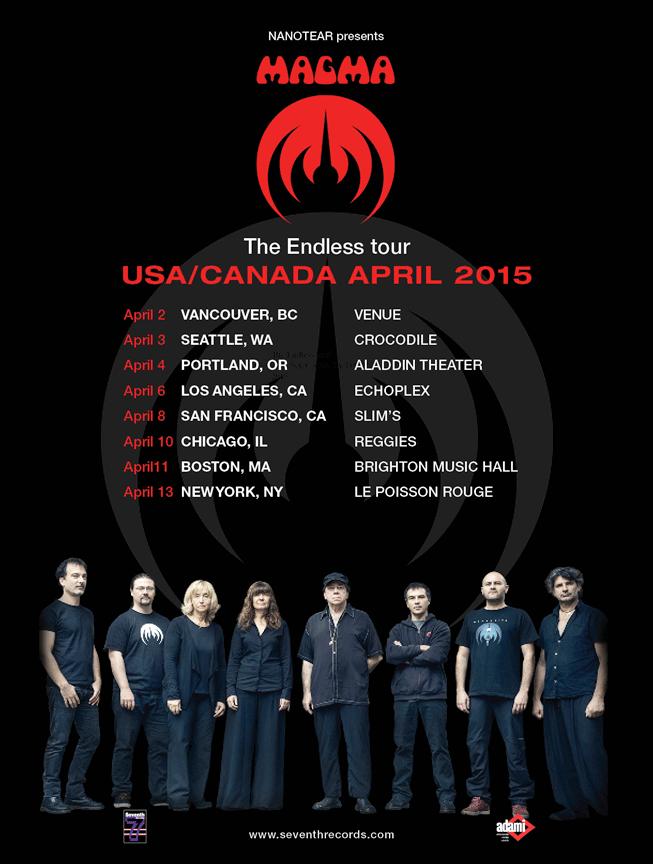 Magma tour poster
