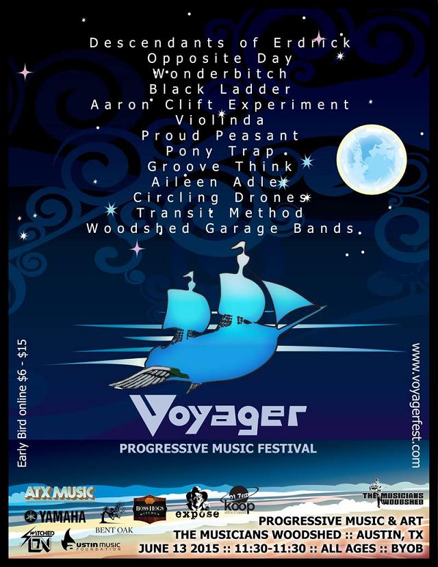 Voyager festival poster