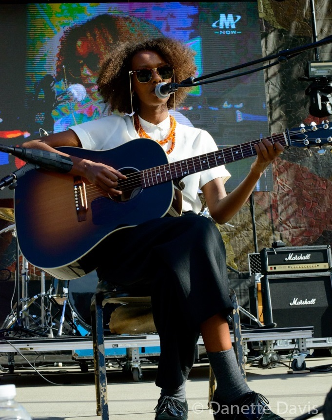 Mirel Wagner at Modern Sky Seattle 2015, photo by Danette Davis