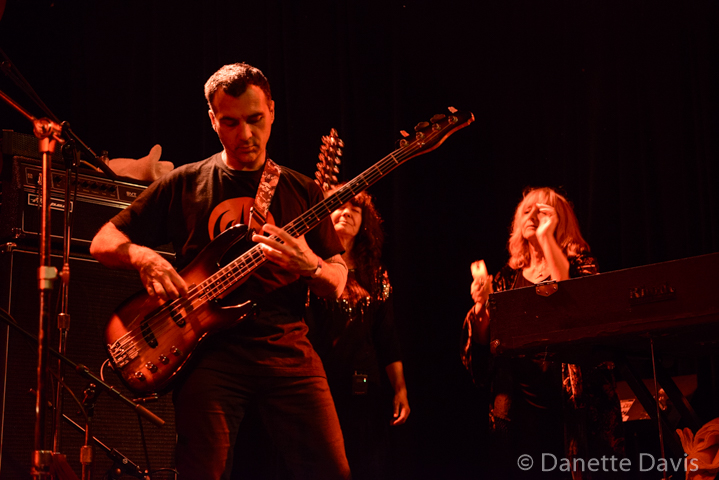 Philippe Bussonnet, Isabelle Feuillebois, and Stella Vander with Magma, Seattle 2016