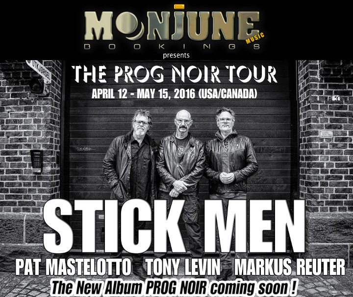 Stick Men tour poster