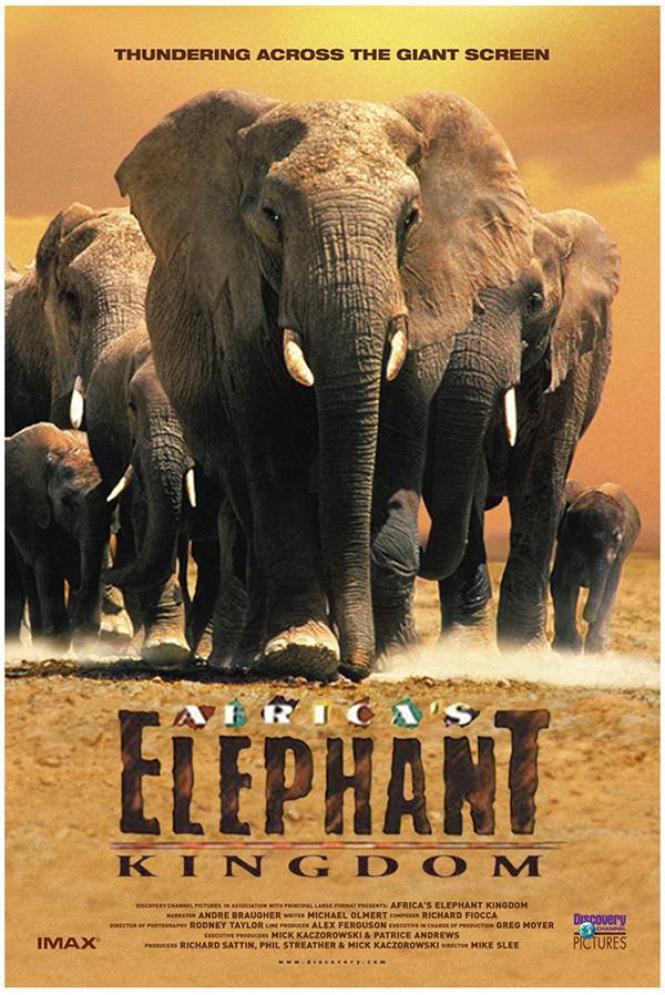 Africa's Elephant Kingdom, music by Ron Riddle