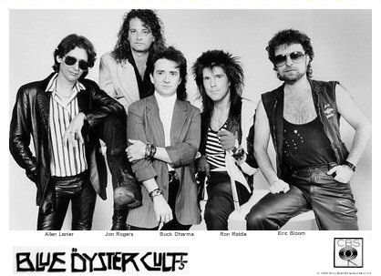 Blue Öyster Cult with Ron Riddle, about 1988