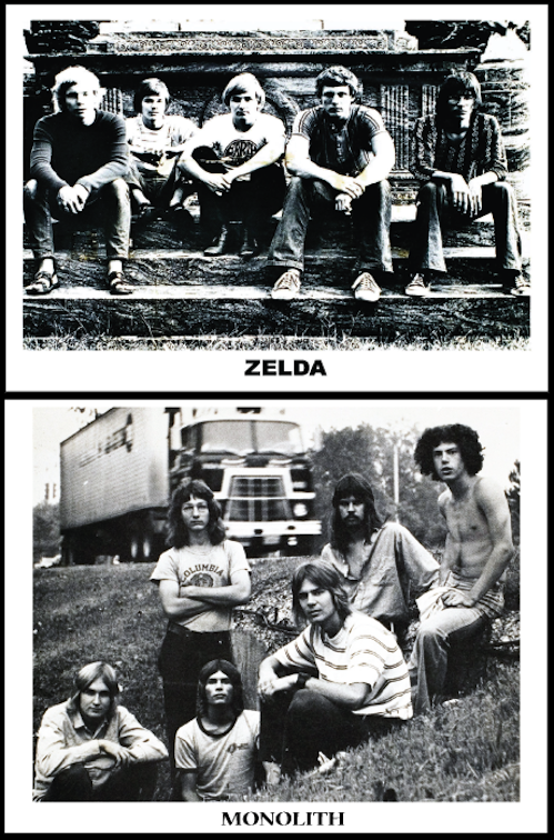 Zelda and Monolith band photos