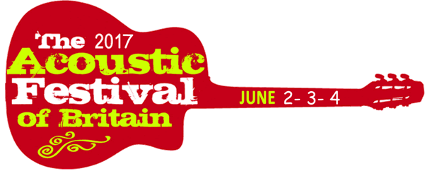 The Acoustic Festival of Britain 2017 logo
