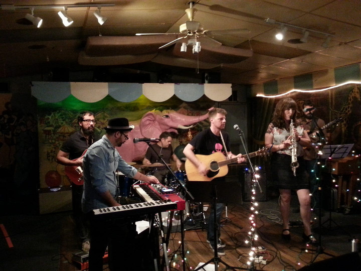 Sam Arnold and the Secret Keepers live
