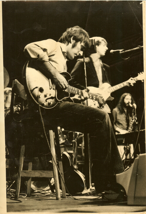 Fred Frith with The Muffins, 1980