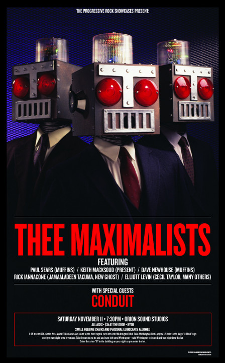 Poster for Thee Maximalists
