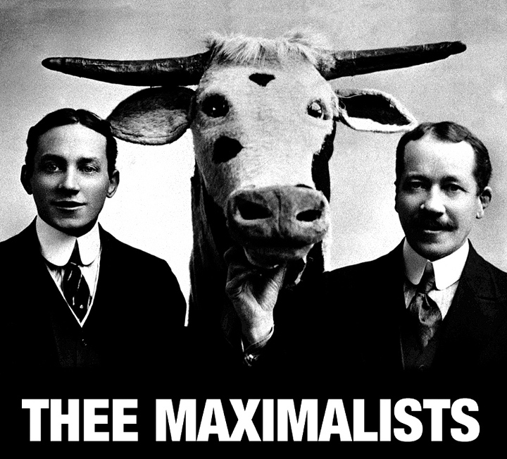 Promotional image for Thee Maximalists