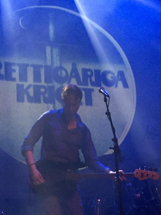 Stefan Fredin in concert