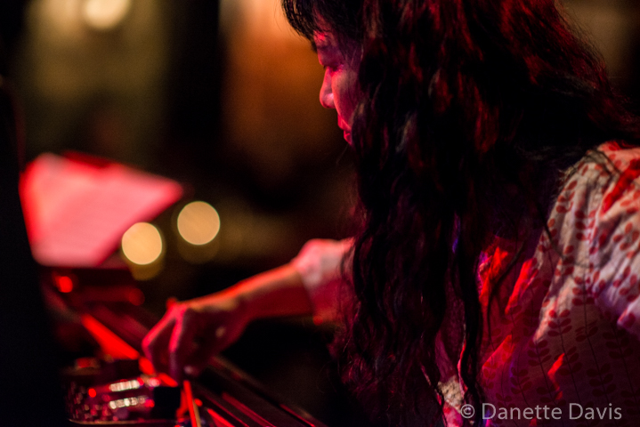Satoko Fujii at the Royal Room, Seattle, 7 May 2019, photo by Danette Davis