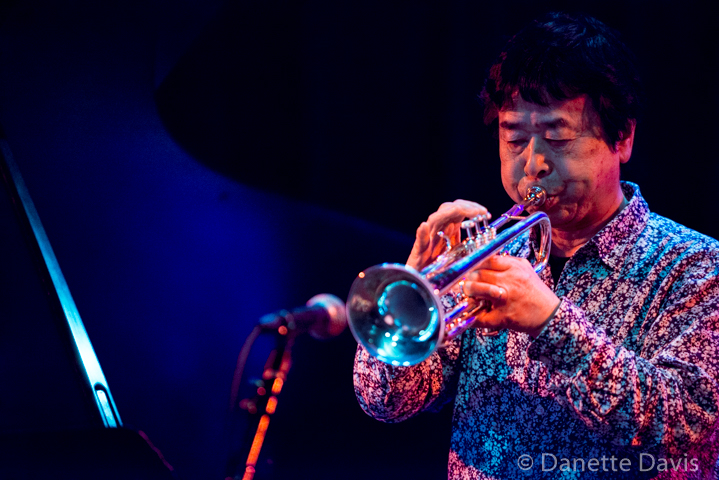 Natsuki Tamura at the Royal Room, Seattle, 7 May 2019, photo by Danette Davis