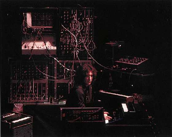 Larry Fast live with Peter Gabriel, 1977