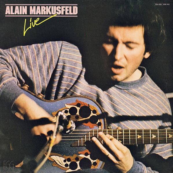 Alain Markusfeld — Live