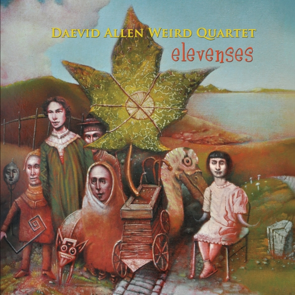 Daevid Allen Weird Quartet - Elevenses cover