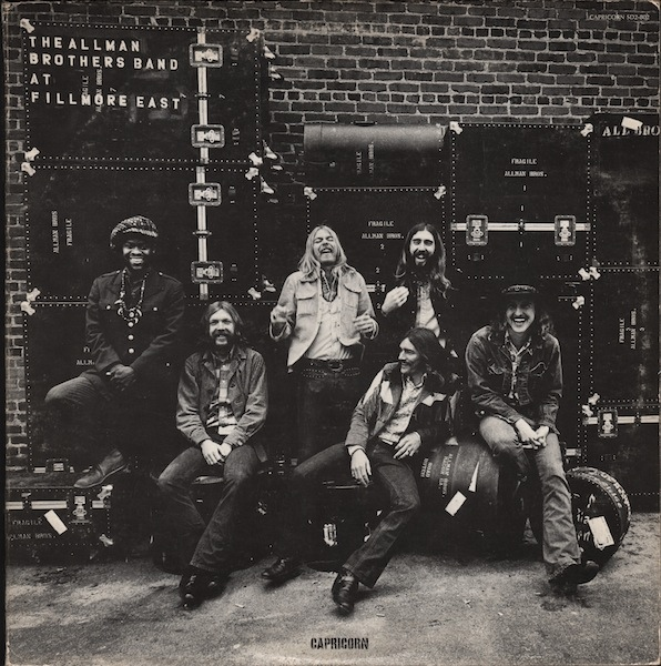 At Fillmore East Cover art