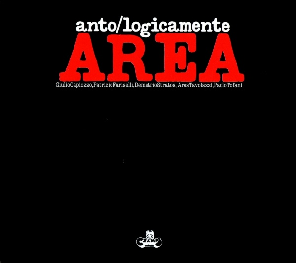 Area - Anto/Logicamente cover