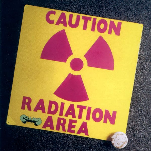 Caution Radiation Area Cover art