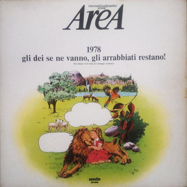 Area - 1978 Gli Dei Se Ne Vanno, Gli Arrabbiati Restano! cover