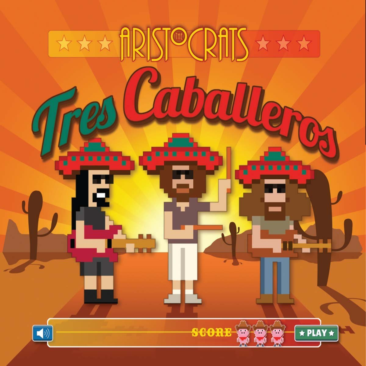 Tres Caballeros Cover art