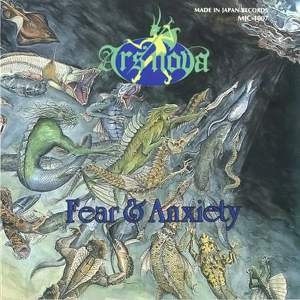 Ars Nove - Fear and Anxiety cover