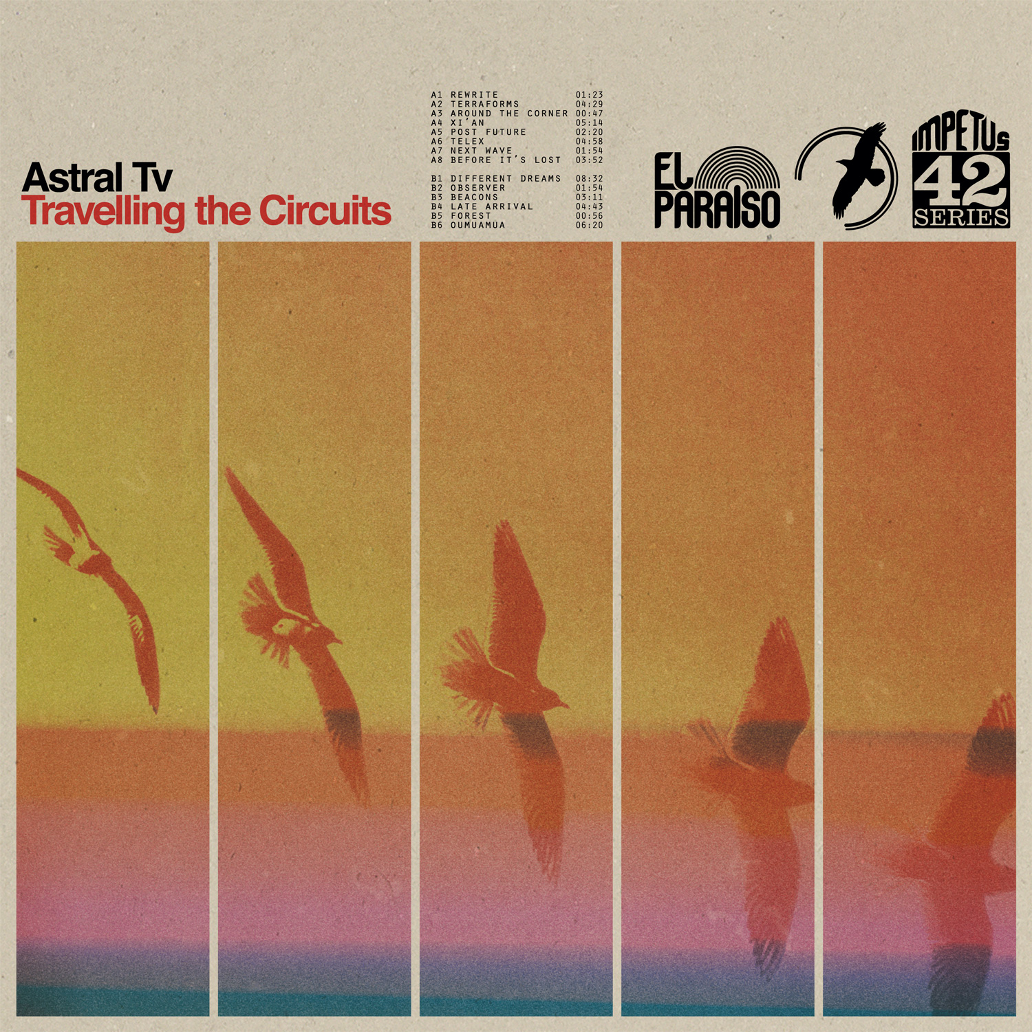 Travelling the Circuits Cover art
