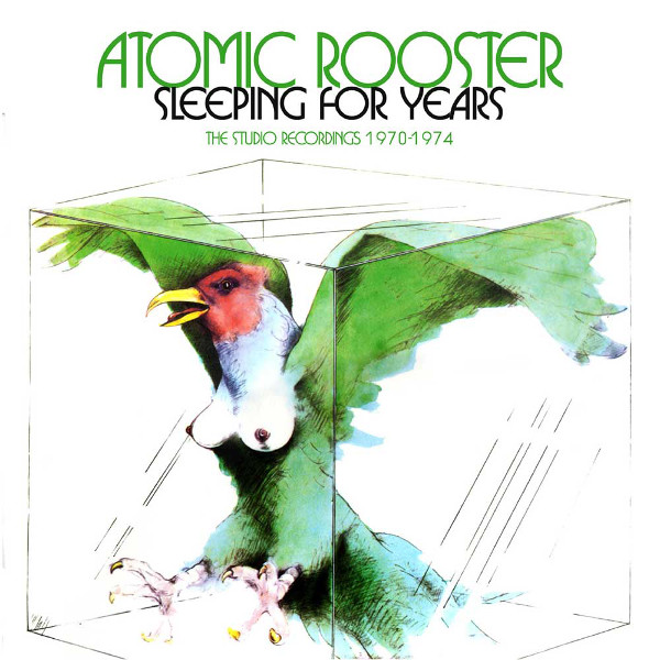 Sleeping for Years - The Studio Recordings 1970-1974 Cover art