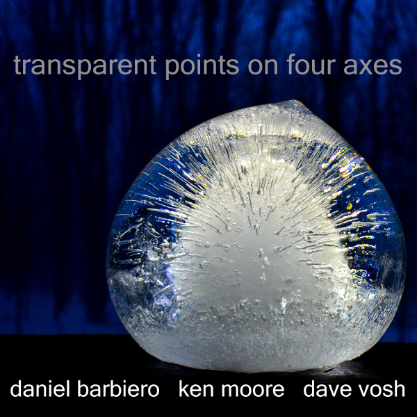 Transparent Points on Four Axes Cover art