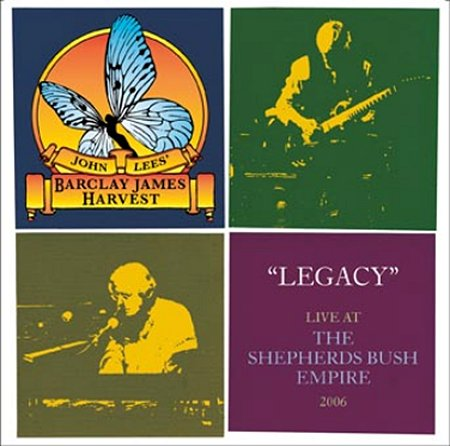 Legacy Live at the Shelpherd's Bush Empire 2006 Cover art