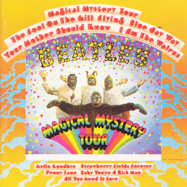 Magical Mystery Tour Cover art