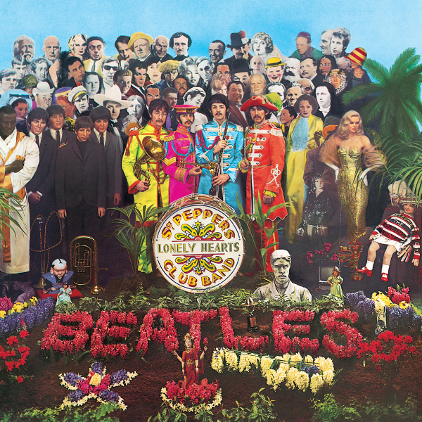 The Beatles - Sgt Pepper's Lonely Hearts Club Band cover art