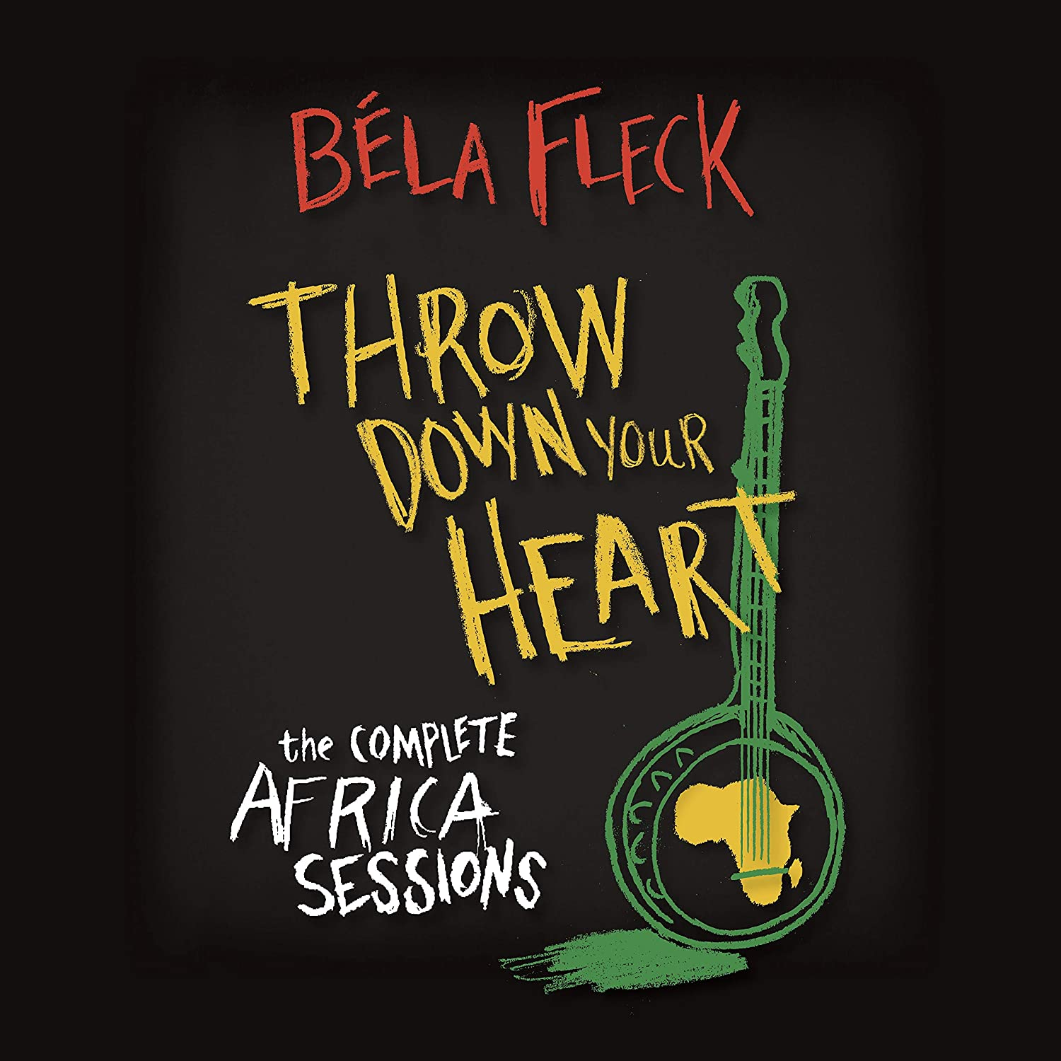 Throw Down Your Heart - The Complete Africa Sessions Cover art