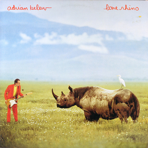 Adrian Belew — Lone Rhino