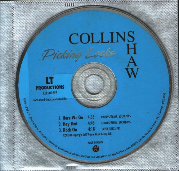 Bernie Shaw & Dale Collins — Picking Locks