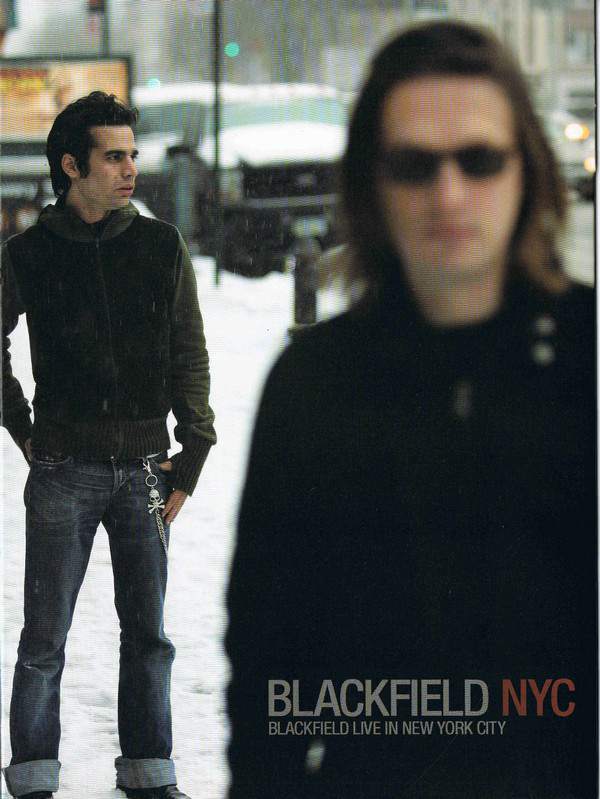 NYC - Blackfield Live in New York City Cover art