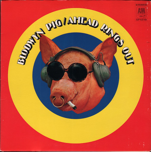 Blodwyn Pig - Ahead Rings Out cover art