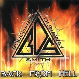 Bouchard, Dunaway & Smith Back from Hell cover