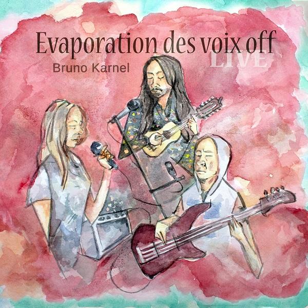 Evaporation des Voix Off Cover art