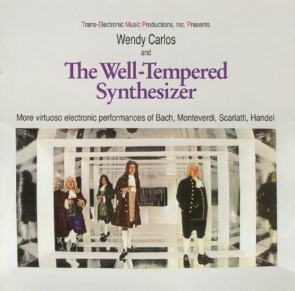 The Well-Tempered Synthesizer Cover art