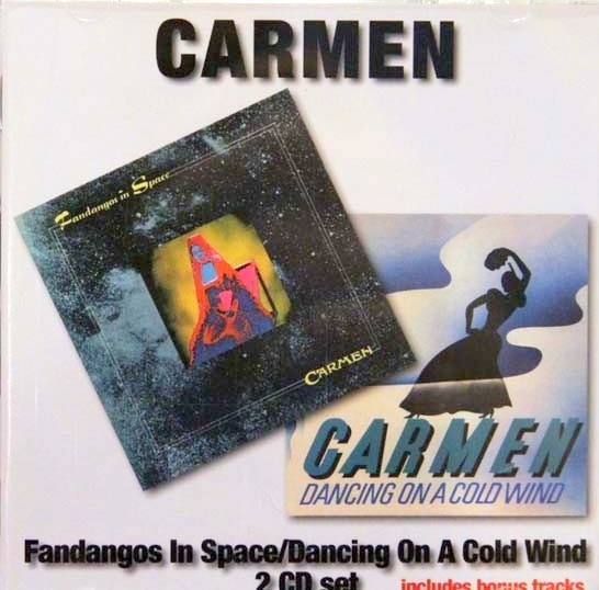 Fandangos in Space/Dancing on a Cold Wind Cover art