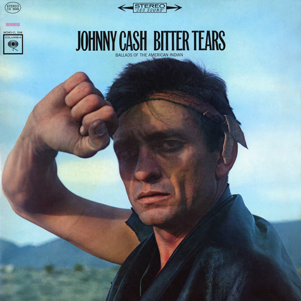 Johnny Cash - Bitter Tears cover