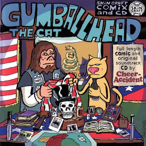 Cheer-Accident — Gumballhead the Cat