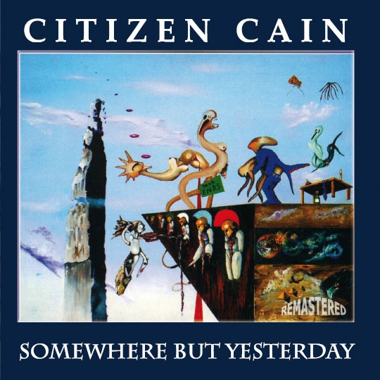 Somewhere But Yesterday Cover art